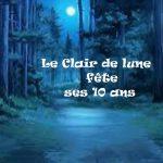 Inscription – Clair de lune 10